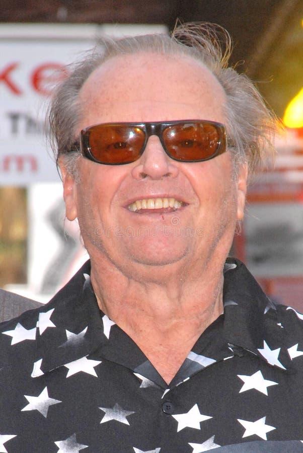 Jack Nicholson стоковые изображения rf