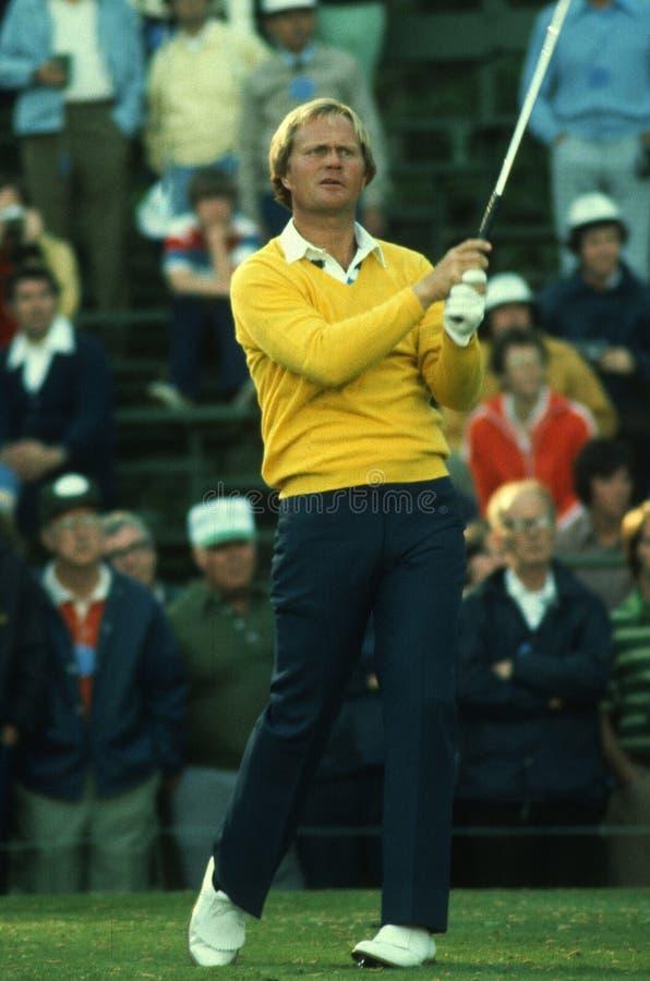 Jack Nicklaus Professional Golfer photo libre de droits