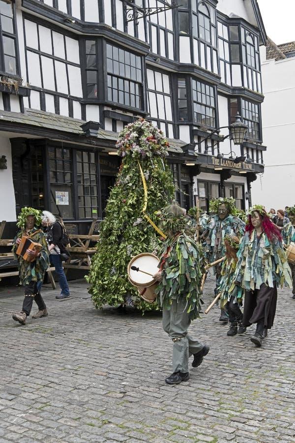 Jack no verde em Bristol, Reino Unido imagens de stock royalty free