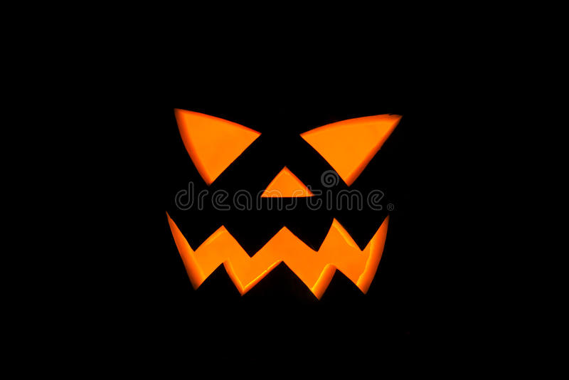 Jack& x27; Nolla-lykta, halloween vattenmelondetalj i den läskiga natten royaltyfri illustrationer