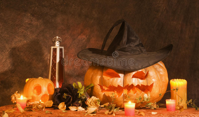 Download Jack o lantern stock image. Image of witches, death, candles - 22020371