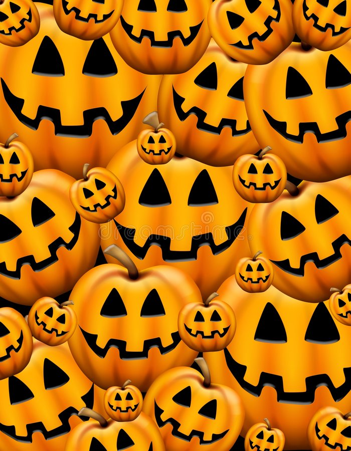 Jack O Lantern Background royalty free stock photos