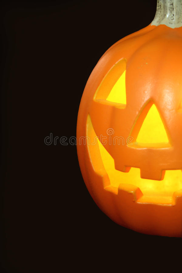 Jack-O-Lantern/ Halloween stock photography