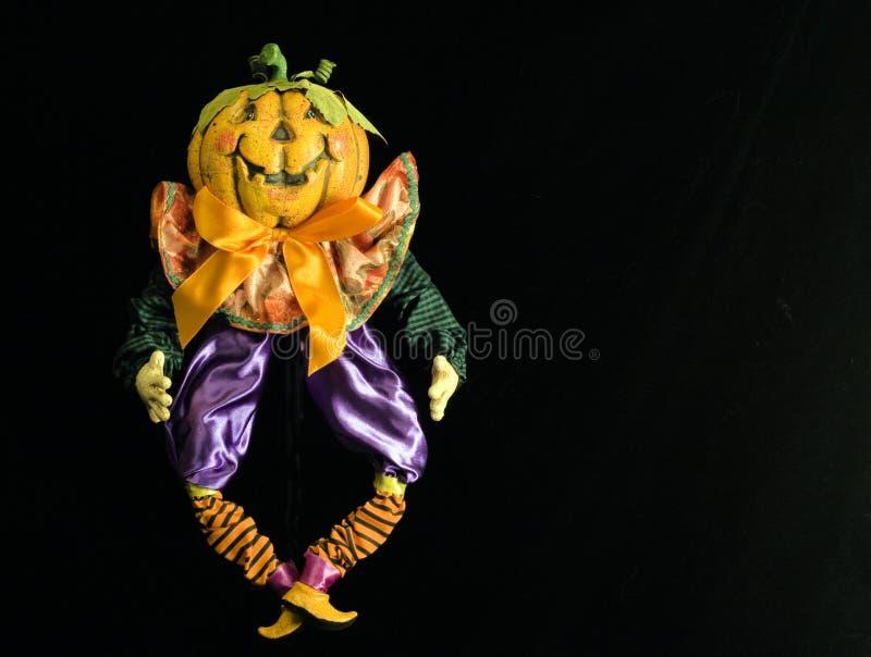 Jack-o-Lantern Marionette stock photo