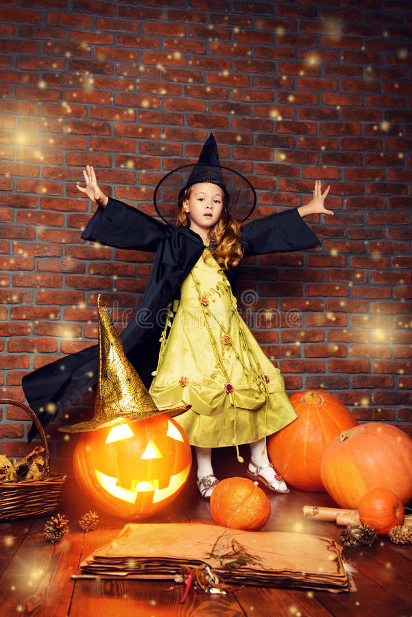 Jack-o-lantern pumpkin royalty free stock images