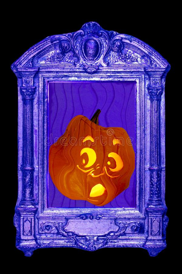Download Jack O Lantern Takes Fright Royalty Free Stock Photography - Image: 21658957