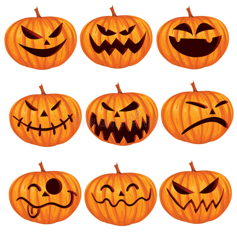 Jack o Lantern stock illustration