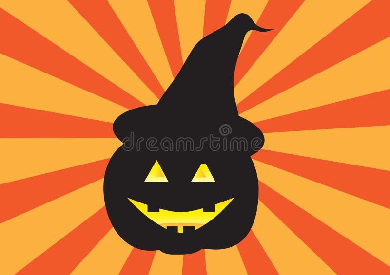 Jack-o-lanterna imagem de stock