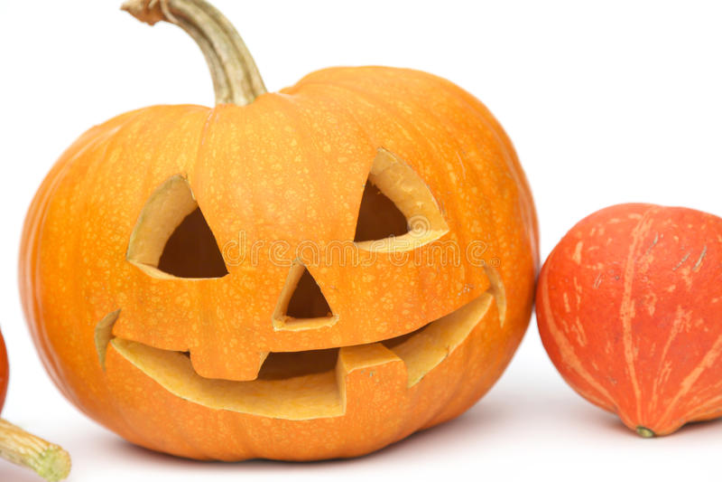 Jack-o-Lanterna de Halloween fotografia de stock