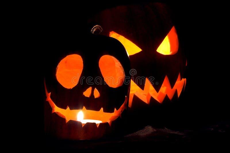 Jack-o-lanternes image libre de droits