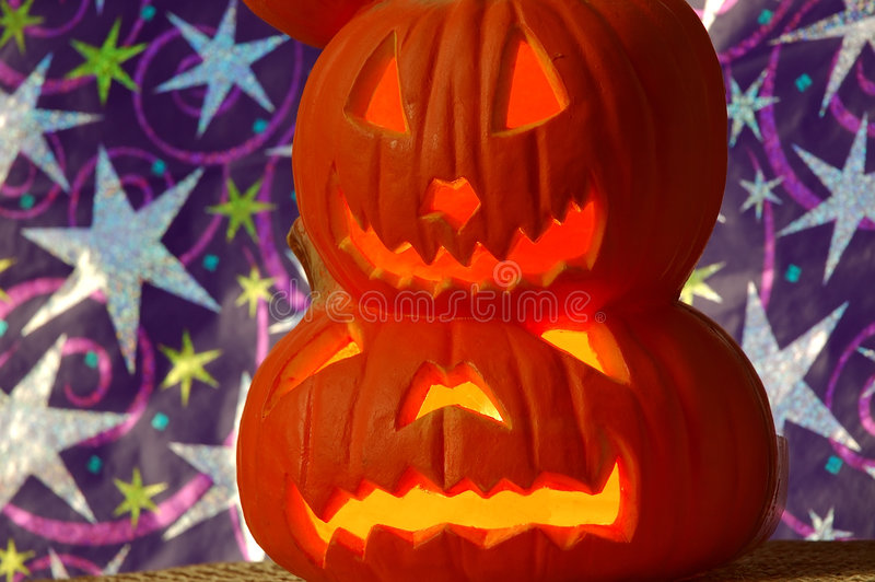 Download Jack O Lanterns stock image. Image of jacks, smiles, faces - 253337
