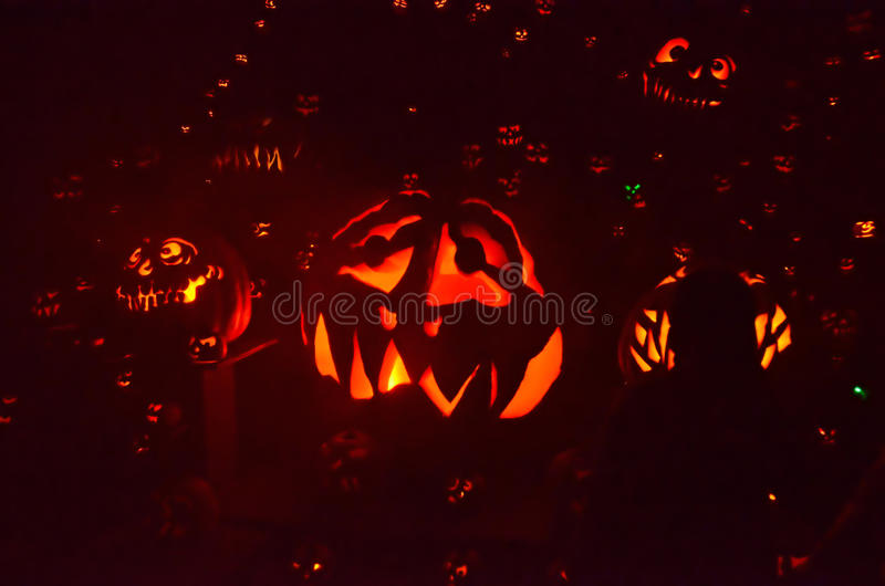 Jack-o-latern Royalty Free Stock Photo