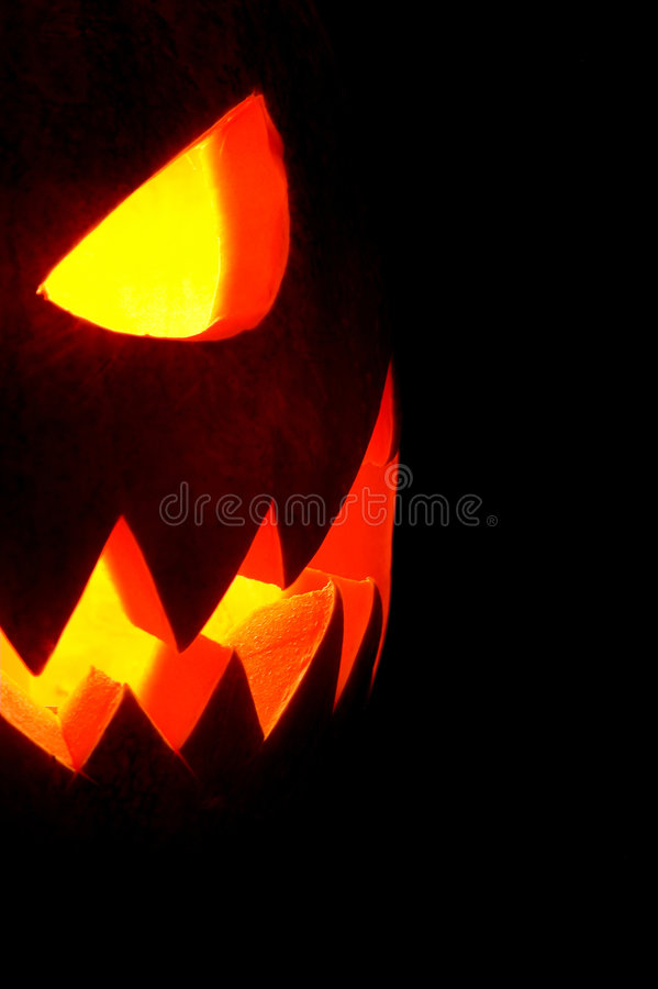 Jack-O-Laterne 4 stockbild