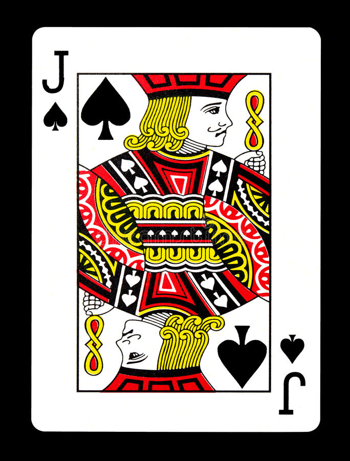 Free Jack Of Spades Playing Card, Stock Image - 86723821