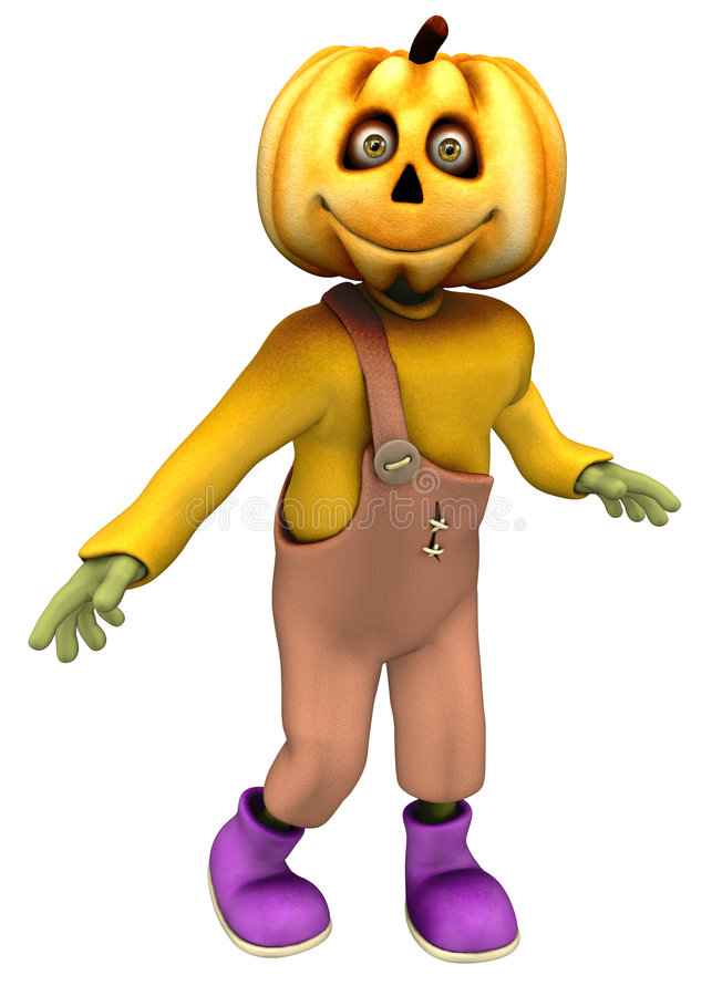 Jack Pumpkin stock illustration