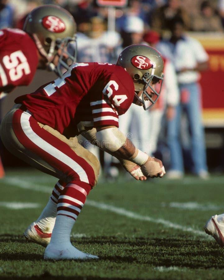 Jack Reynolds. San Francisco 49ers star. (Image taken from a color slide royalty free stock image