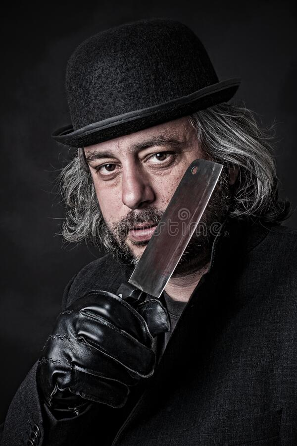 Jack the Ripper II royalty free stock images
