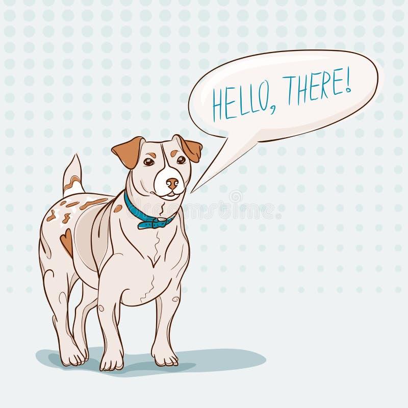 Download Jack Russell Terrier ilustração do vetor. Ilustração de arte - 29835076