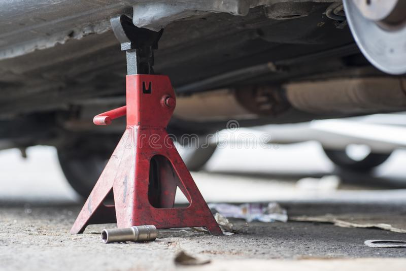 Jack Stand Tool stock foto's