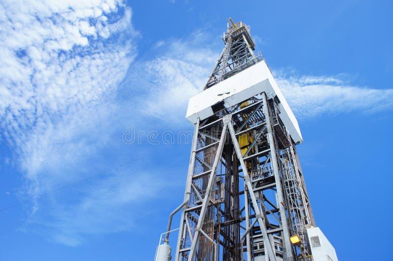 Download Jack Up Drilling Rig Derrick On Sunny Day Stock Image - Image: 26630657