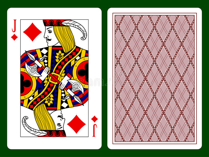 Jack van Diamanten royalty-vrije illustratie