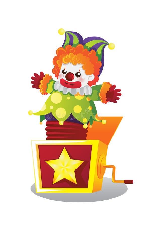 Jack w pudełku royalty ilustracja
