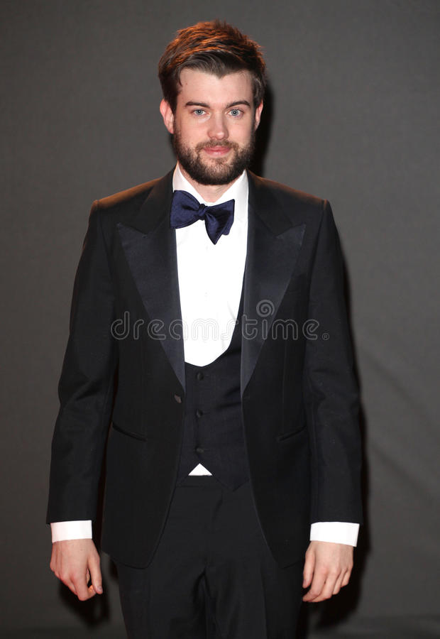 Jack Whitehall. Arriving for the 2013 British Fashion Awards, at The London Coliseum, London. 02/12/2013 Picture by: Alexandra Glen / Featureflash royalty free stock image