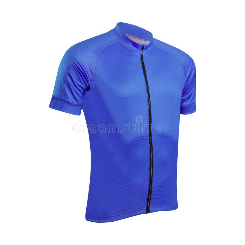Jacke bleu ciel de sports image libre de droits