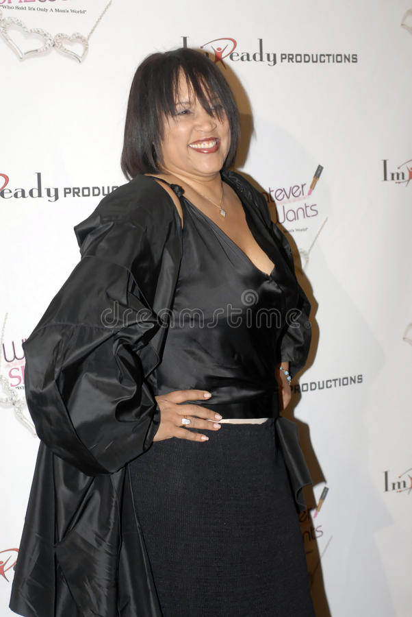 Jackee Harry on the red carpet stock photography