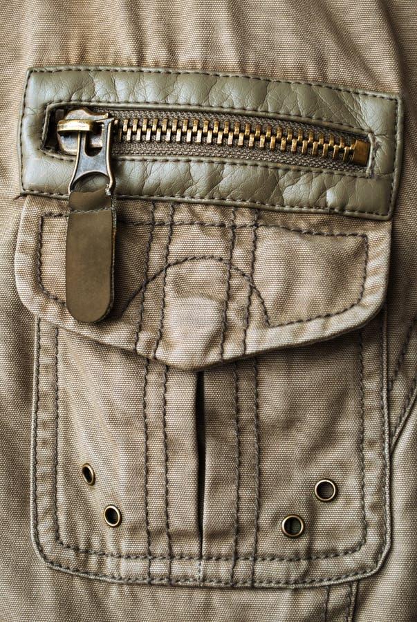 Download Jacket fragment stock image. Image of clothes, coat, pocket - 27585355