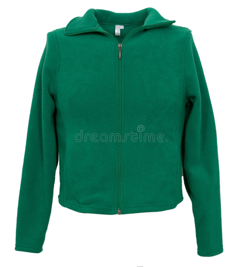 Free Jacket Isolated On The White Royalty Free Stock Images - 7748909