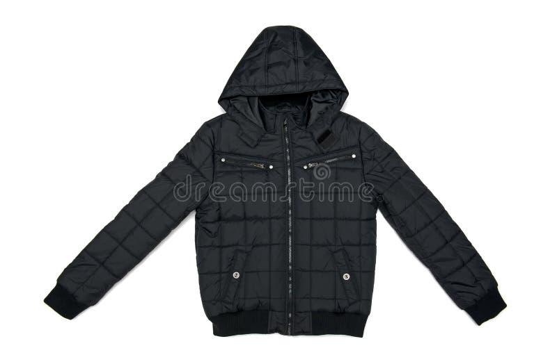Jacket. Isolated on the white background royalty free stock image