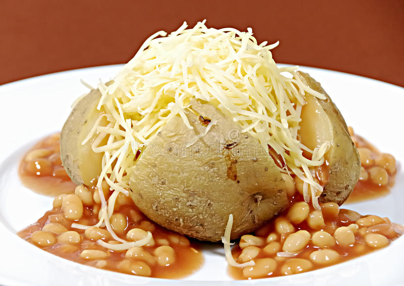 Download Jacket potato stock image. Image of meal, cheese, baked - 11190265