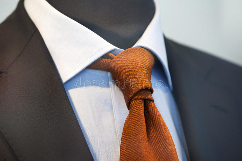 Jacket, tie and shirt. Tasteful combination of Jacket, tie and shirt royalty free stock photos