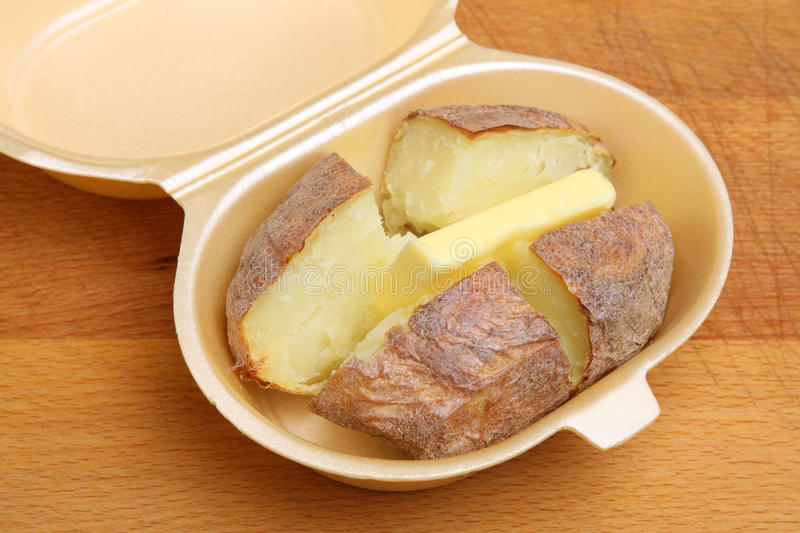 Jacketor Baked Potato with Butter
