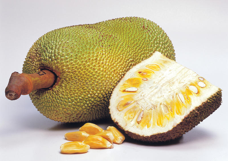 Jackfruit royalty-vrije stock foto's