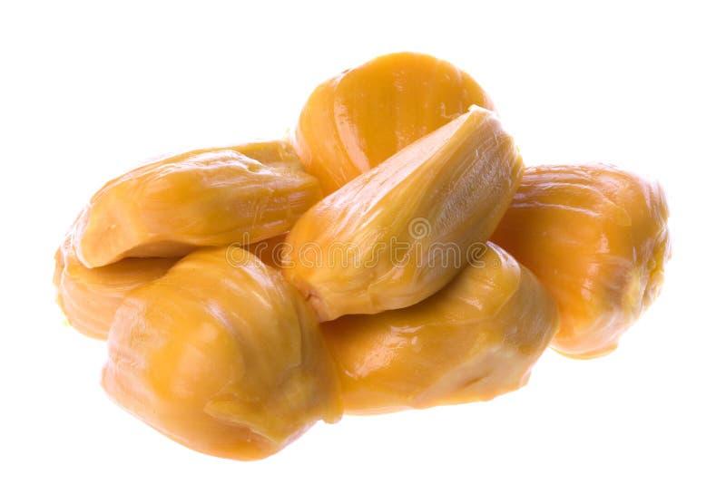 Jackfruits Isolated Stock Photo