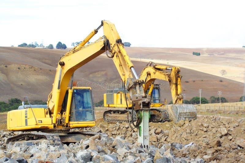 jackhammer большой стоковое изображение rf