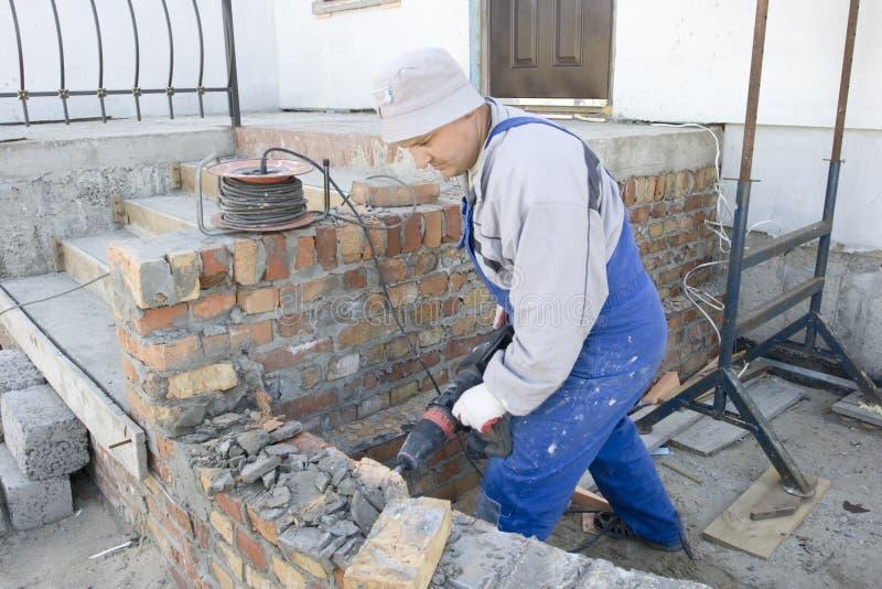 Jackhammer photo libre de droits