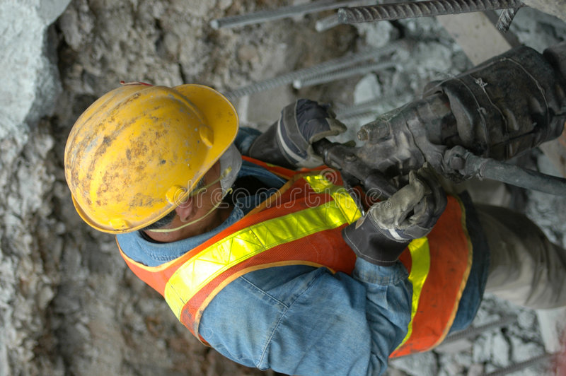 Free Jackhammer - At Work Stock Images - 176984