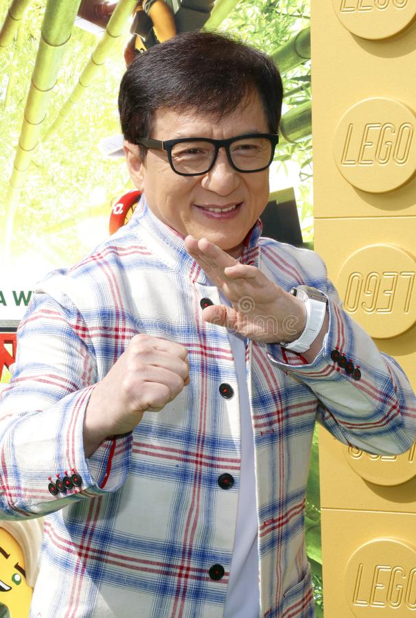 Jackie Chan stock foto's