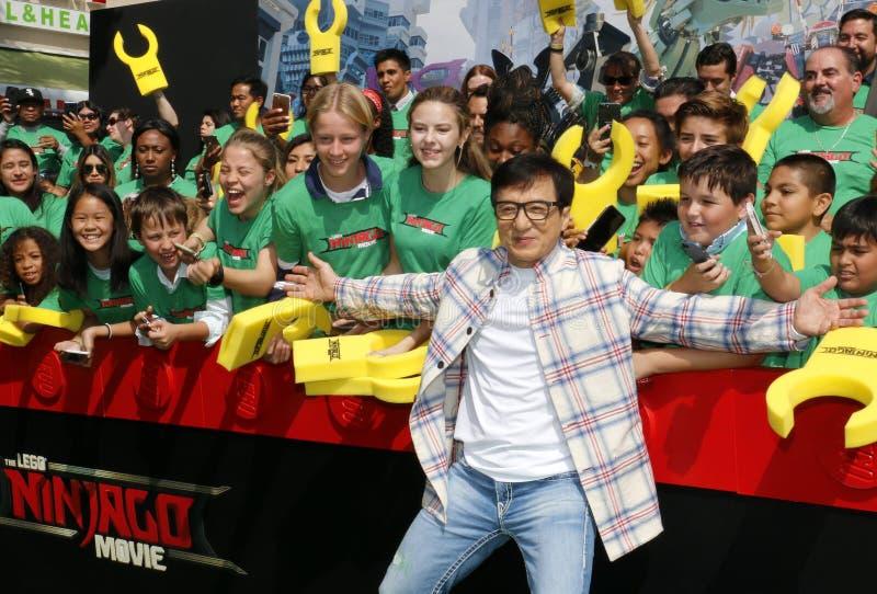 Jackie Chan stock afbeelding
