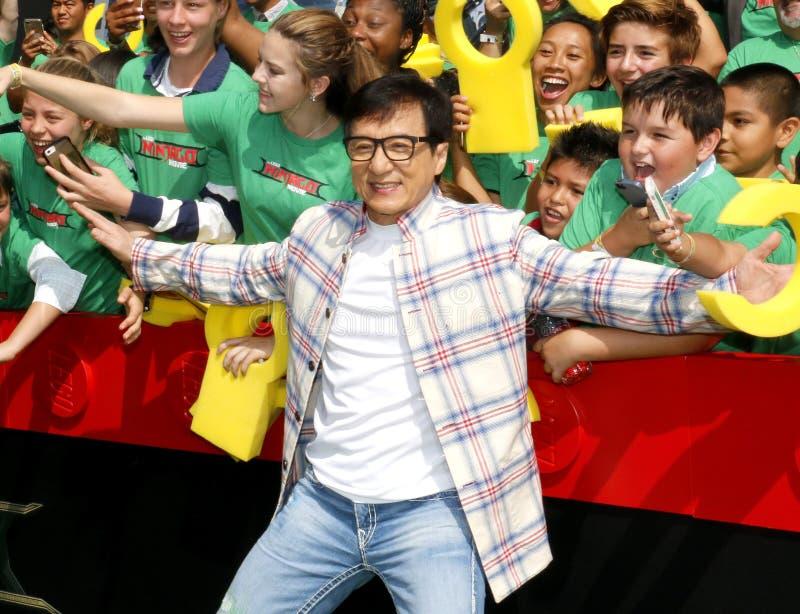 Jackie Chan royalty-vrije stock foto's