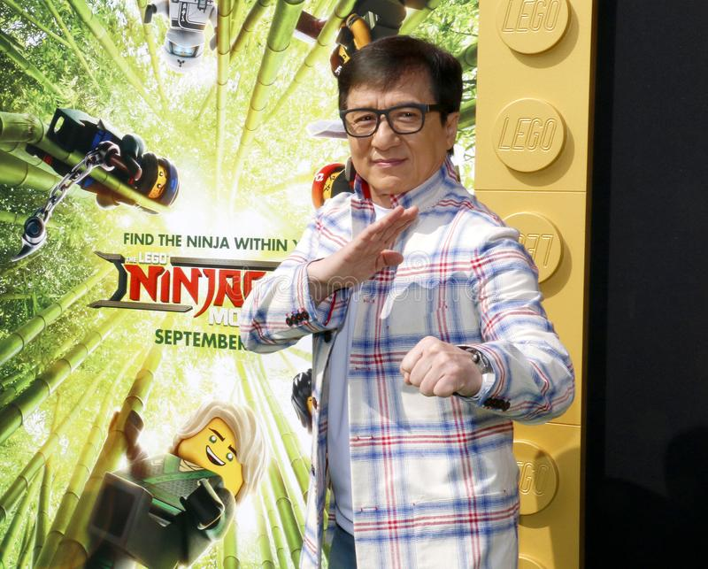 Jackie Chan stock afbeeldingen