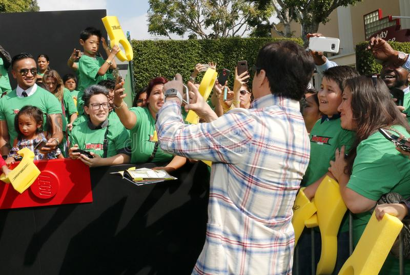 Jackie Chan stock fotografie