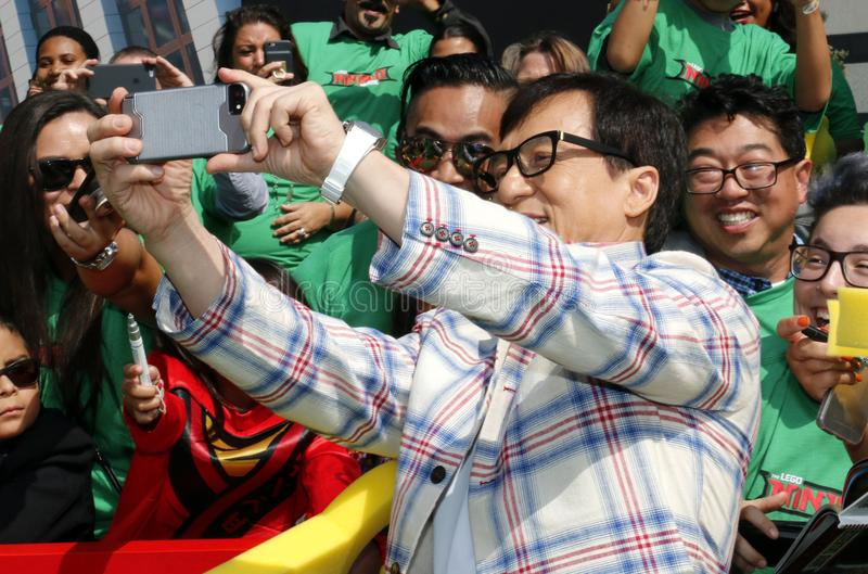 Jackie Chan royalty-vrije stock fotografie