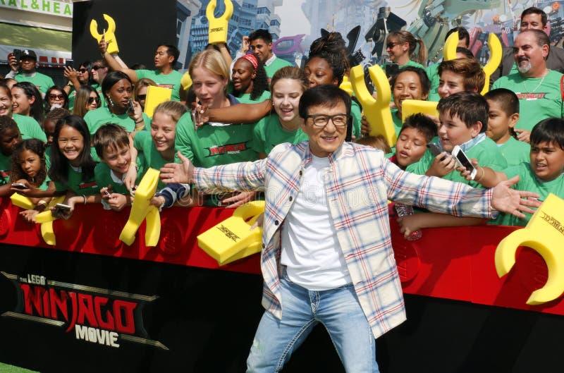 Jackie Chan royalty-vrije stock afbeeldingen