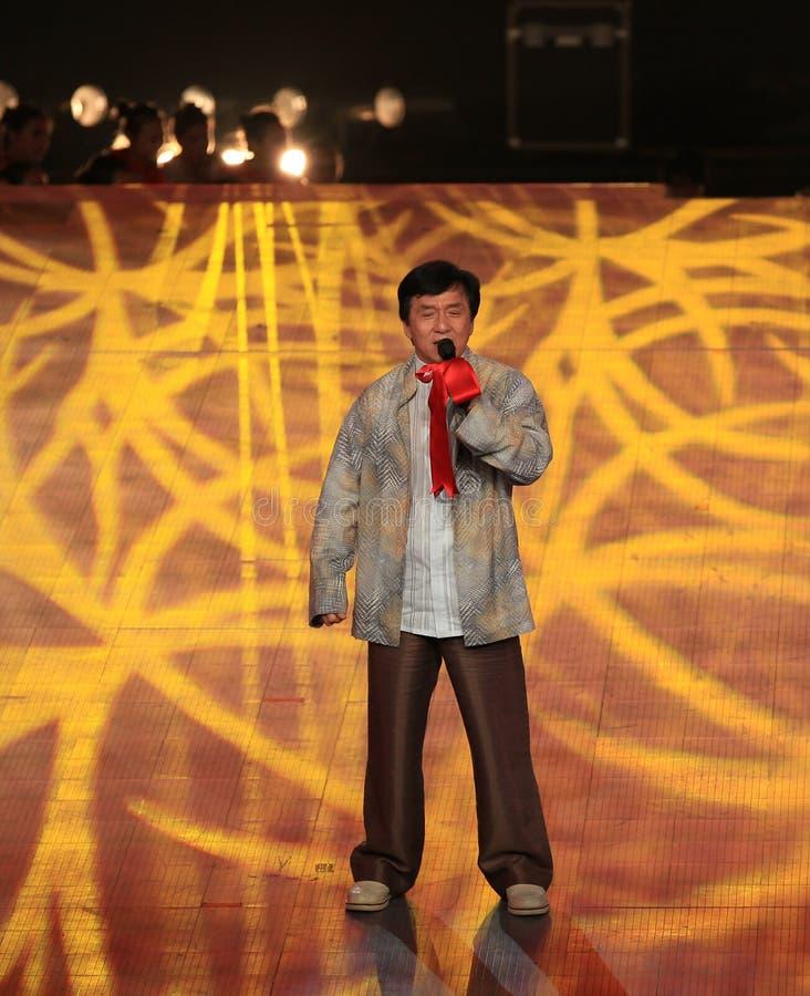 Jackie Chan imagen de archivo