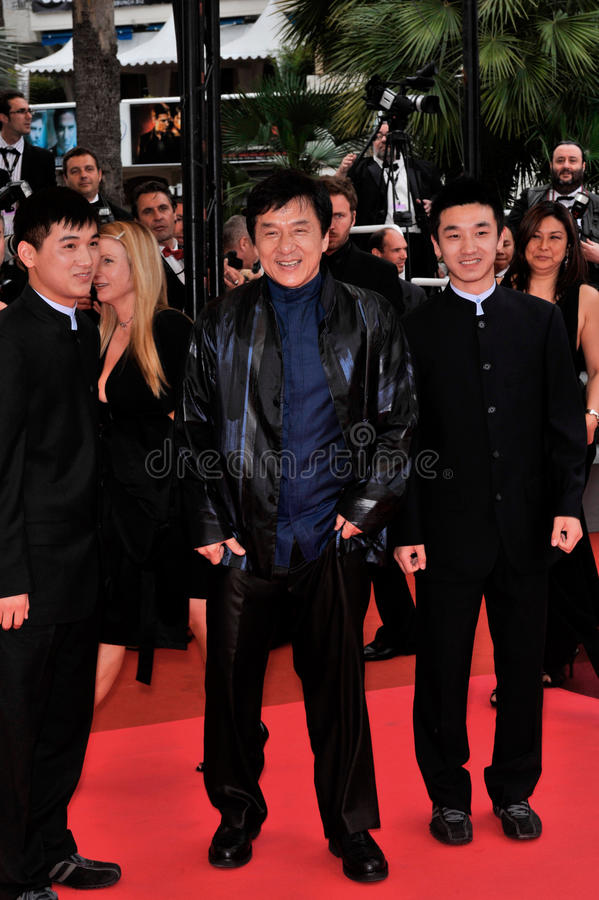 Jackie Chan fotos de stock royalty free
