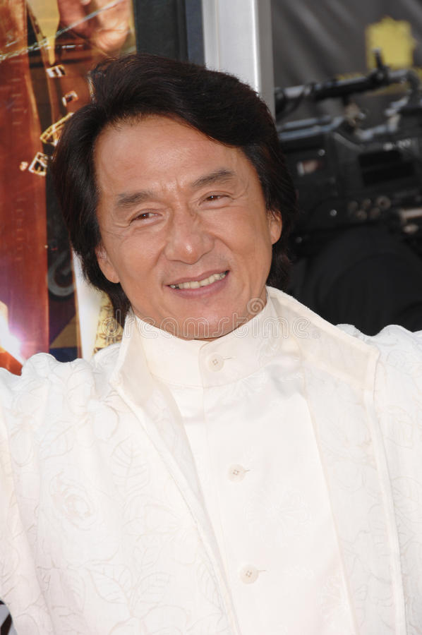 Jackie Chan,. Jackie Chan at the Los Angeles premiere of Rush Hour 3 at Grauman's Chinese Theatre, Hollywood. July 31, 2007 Los Angeles, CA Picture: Paul Smith royalty free stock photography